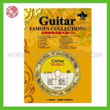 2012 electric guitar catalogue printing