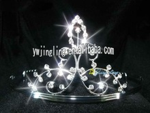 beauty rhinestone and copper wire special tiara