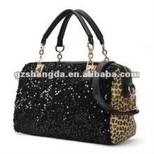 2012 Winter new style black sequins handbags for women