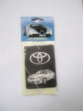 Custom Car Paper Air Freshener for promotion(ecofriendly)