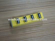 2012 hot-sale USB 4 Port Mini Hub Driver 2.0& micro usb hub