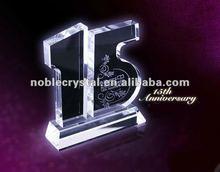 $Number cristal de aniversario de bodas aniversario de boda de recuerdos