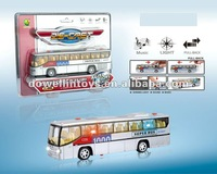 Popular die cast bus with light and music