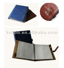A5 PU 2012 agendas/notebooks