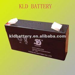 6v1.3ah sealed lead acid storage battery Pakistan