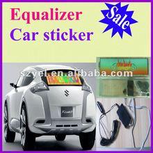 2012 Twinkle best selling & good quality Equalizer el car sticker