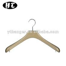 HA041 gold lotus wooden tops/dress hanger metal ring
