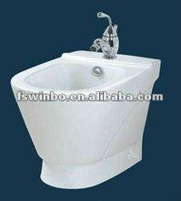 Fixing on wall Ceramic bidet toilet hose