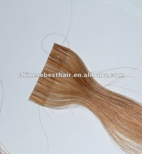high quality remy brazilian hair skin weft in stock welcome sample order