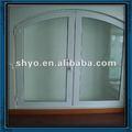 Pvc portes et fenêtres de proue avec cambrés. top fabricant