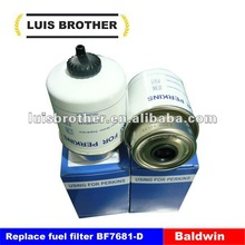 interchangeable Baldwin Fuel filter BF7681-D