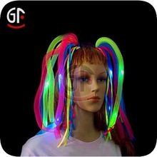 2012 Newest Multi Color Led Flashing Hair Noodle