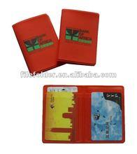 pvc passport holder