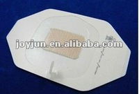 Sterile transparent adhesive waterproof wound dressing (paper frame style)
