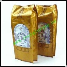 NEW Side Gusset Foil Custom Vacuum Sealed Bag Coffee