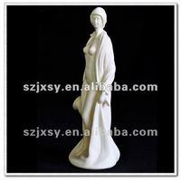 Polyresin Craft Sexy Bathing Lady Figurine