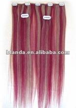 100% malaysian hair clip in slavic hair extension