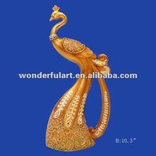 elegant attractive wedding decoration peacock