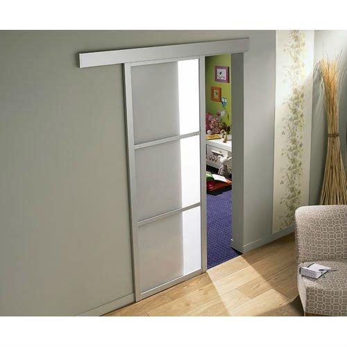 De aluminio del armario puerta corredera pista cuadro de - Puerta corredera de aluminio ...