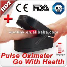 2012 Portable Fingertip Pulse Meter Counter