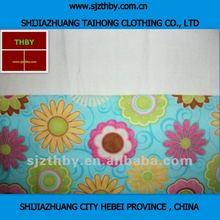 Fleece printed 100 cotton fabric material