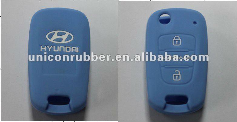Best quality silicone car key case for HYUNDAI