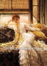 Classical Lady Portrait Painting