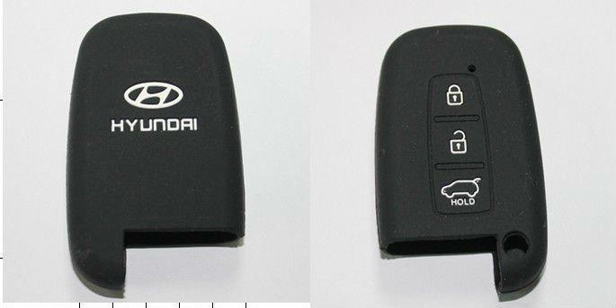 Top quality silicone car key case for HYUNDAI