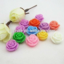 DIY Flat Back Flowers Resin Phone Accessories 8 Colors