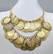 gold chain machine semi precious jewelry necklace fashion jewellery 2012