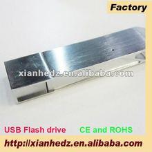 High quality metal wine bottle opener 32gb usb flash drive