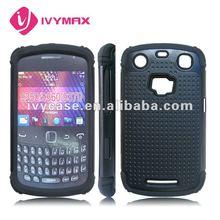 for blackberry 9360 triple defender combo cell phone cases