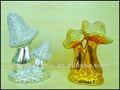 La decoración del hogar electrochapa cerámica de setas