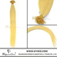 Top quality keratin prebonded human hair extension