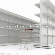 super market metal shelf powder coating
