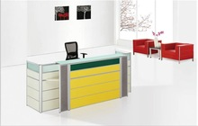 TG011 new design modern commercial front desk with 320#screen