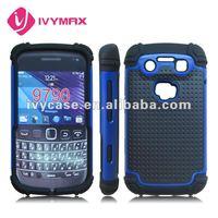 skin case for blackberry bold 9790 2in1 protector case