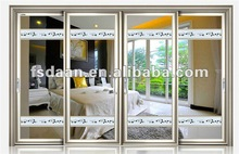 Aluminum door Made of Aluminum Material with Healthy Product Without Radiant Pollution