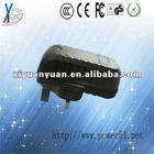 12V 1.5A 24V 0.75A high power usb wifi adapter with UK plug, AU plug