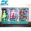 small plastic doll Nice and beautifully plastic doll toys for kid decorations fashion doll