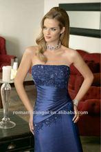 2012 Latest Elegant Mother of The Bride Dress Navy Blue