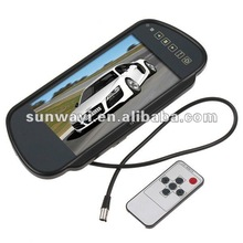 7 Inch Touch Screen Rearview Monitor System with MP5 Function USB Port