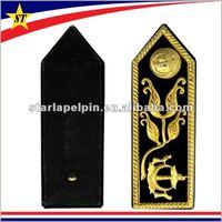 metal logo military customized epaulette for sale