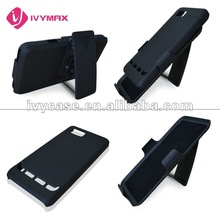 for motorola motoluxe xt615 hard PC cover case with stand