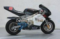 Best Christmas gift 350W battery powered pocket bike