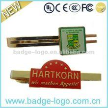 2012 Fashion silver tie pin gold tie pin