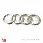 Chrome finishing alloy ford logo car emblem
