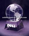 Noble Crystal Globe corporativo prêmio troféu