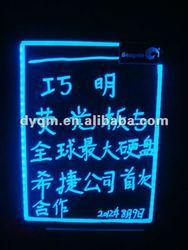 RGB Flashing Led Lighting Panel Store Advertising Sign