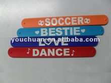 fat silicone rubber band, slap bands